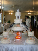 Cake with Fountain