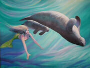 Mermaid and Manatees